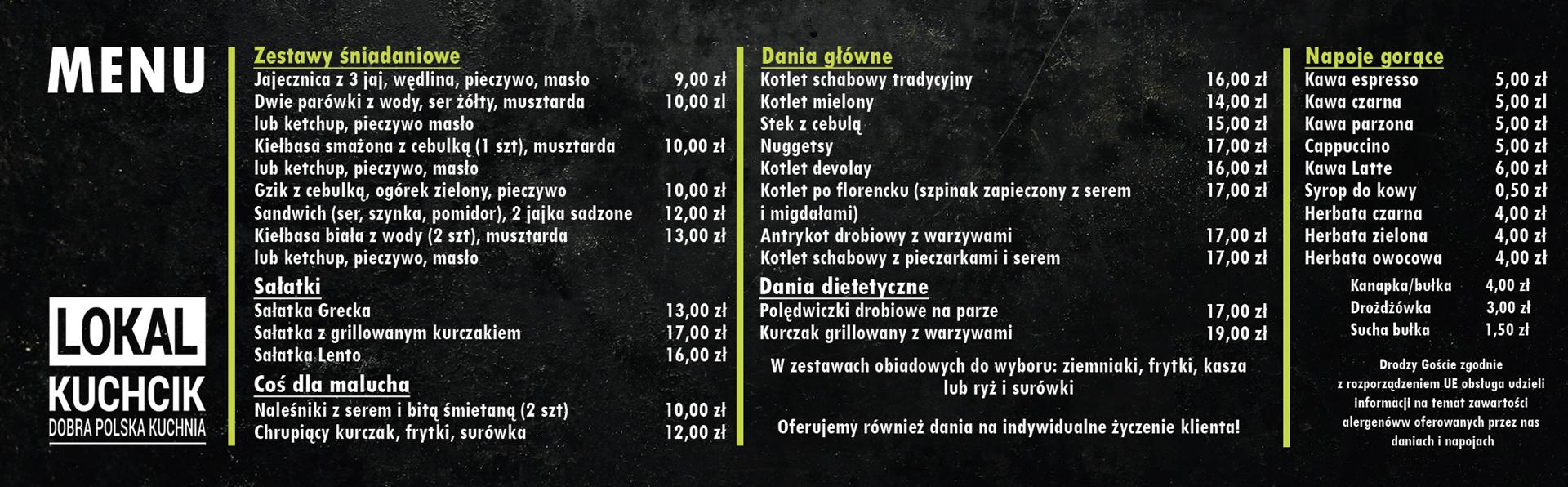 menu Lokal Kuchcik
